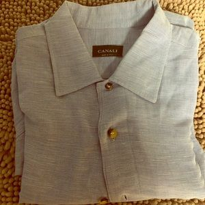 Canali Dress Shirt big and tall measurements